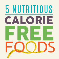 Calorie Free Foods: Eat These To Prevent Weight Gain-Infographic