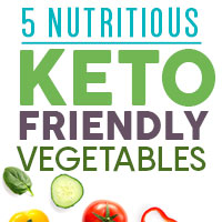 5 Must-Have Low Carb Veggies For Those On Keto Diet - Infographic