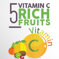 5 Fruits Abundant In Vitamin C To Bolster Immunity - Infographics