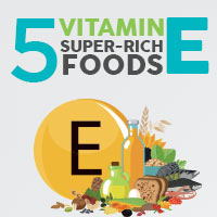 5 Foods Bountiful in Vitamin E That Promote Overall Health-Infographic
