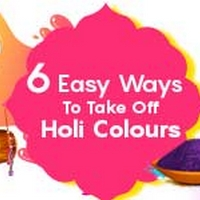 Holi: How To Remove Colours From Your Skin & Hair
