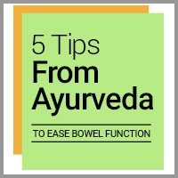 5 Best Ayurvedic Remedies To Treat Constipation - Infographic