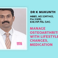 Manage Osteoarthritis With Lifestyle Changes, Medication