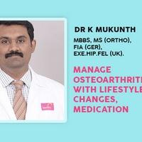 Manage Osteoarthritis With Lifestyle Changes, Medication