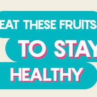 6 Amazing Fruits To Lead A Healthy Life - Infographic