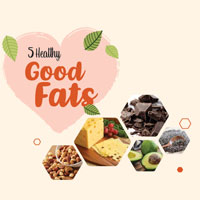 Not All Fats Are Bad. Eat These To Lose Weight - Infographic