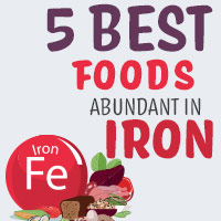 5 Foods Super-Rich In Iron That Are Essential For Overall Health-Infographics