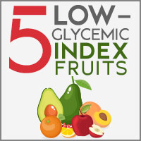 5 Fruits Low On Glycemic Index That Are Good For Diabetics-Infographic
