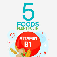 Foods Super Rich In Vitamin B1 For Overall Well-Being -Infographic