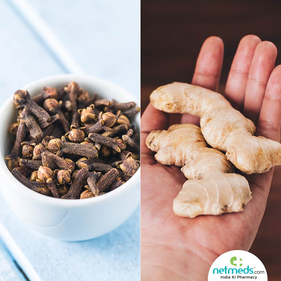 Cloves and Ginger GERD Symptom