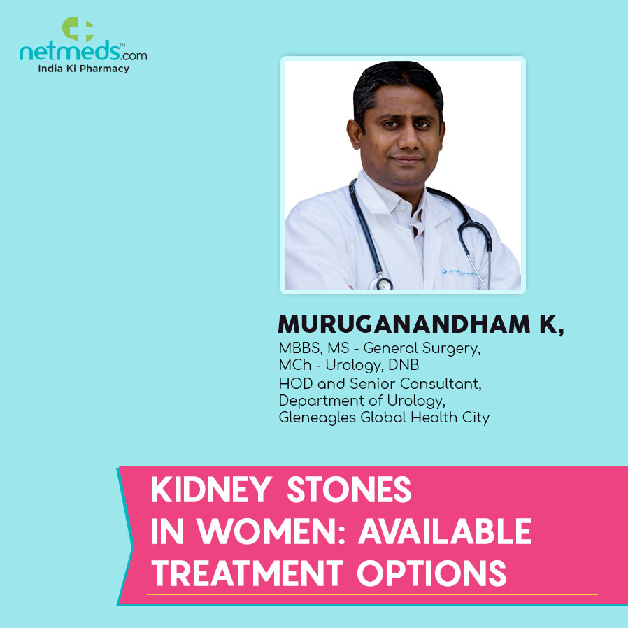 Kidney Stones in women by Muruganandham K