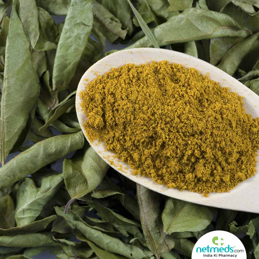 Curry leaves churna