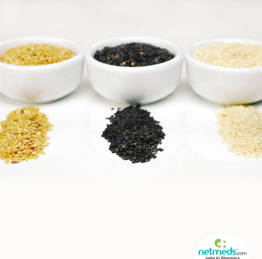 Sesame seed types