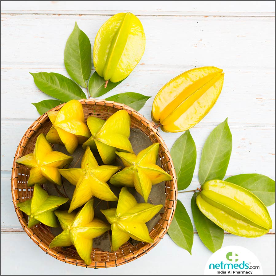 carambola for preventing cholesterol