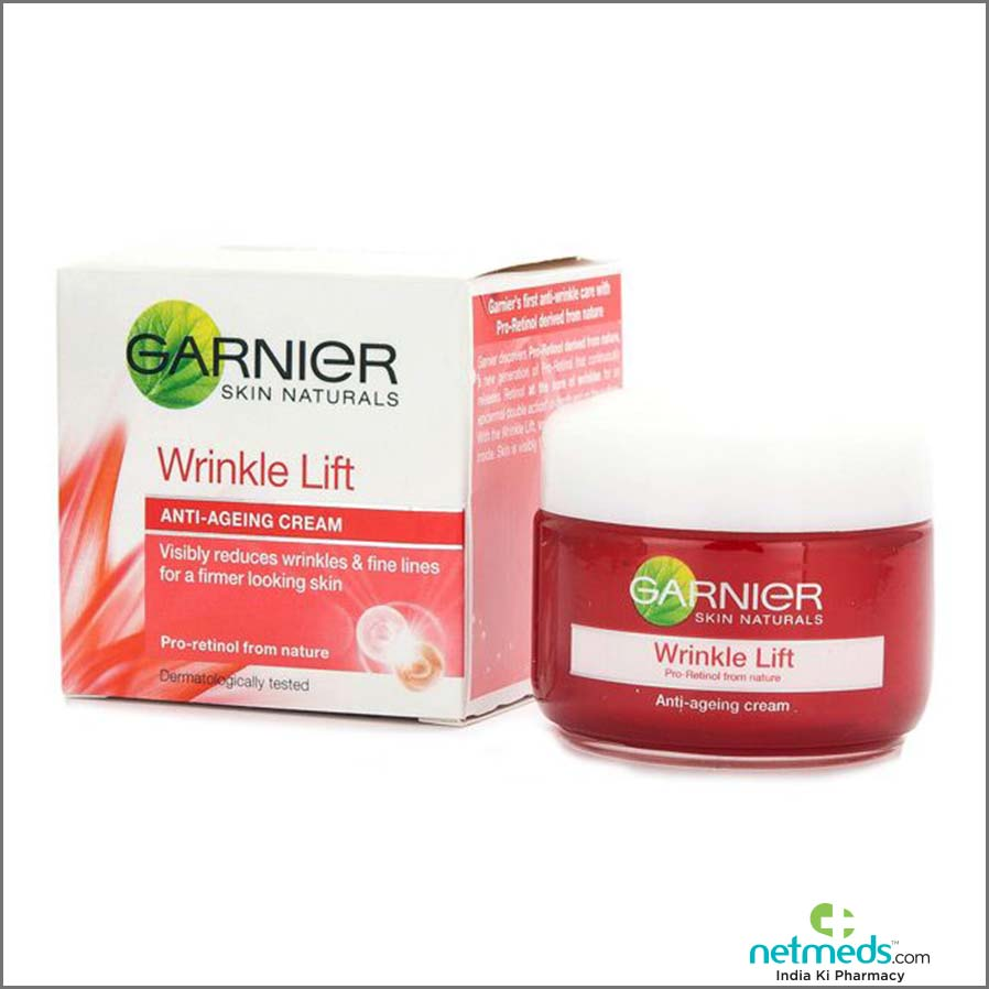 Garnier Skin Natural Wrinkle Lift Anti-Ageing Cream 40 gm-benefits