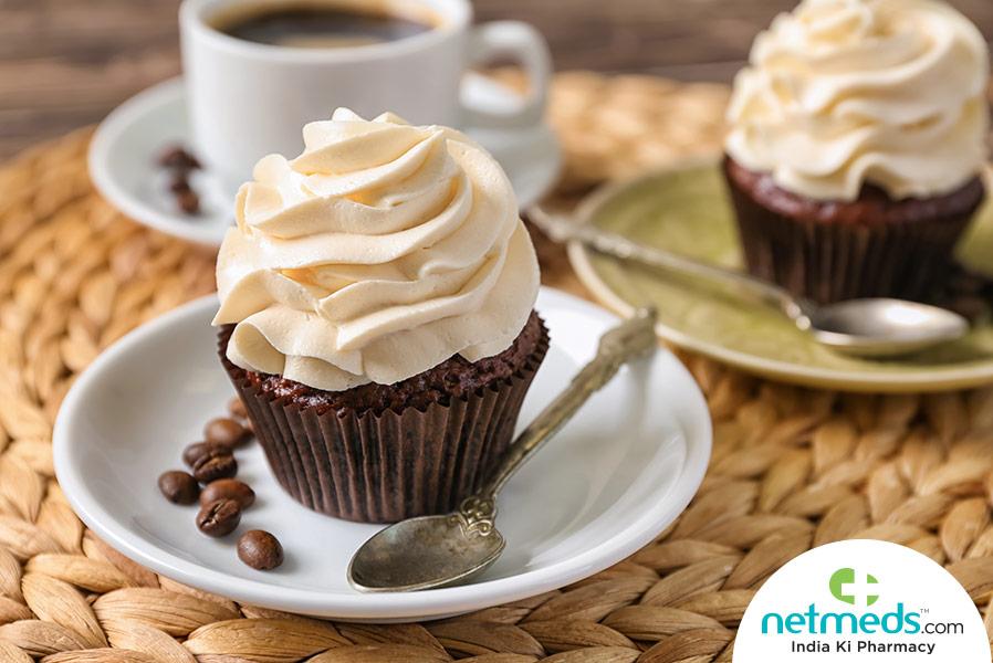 dalgona cupcake