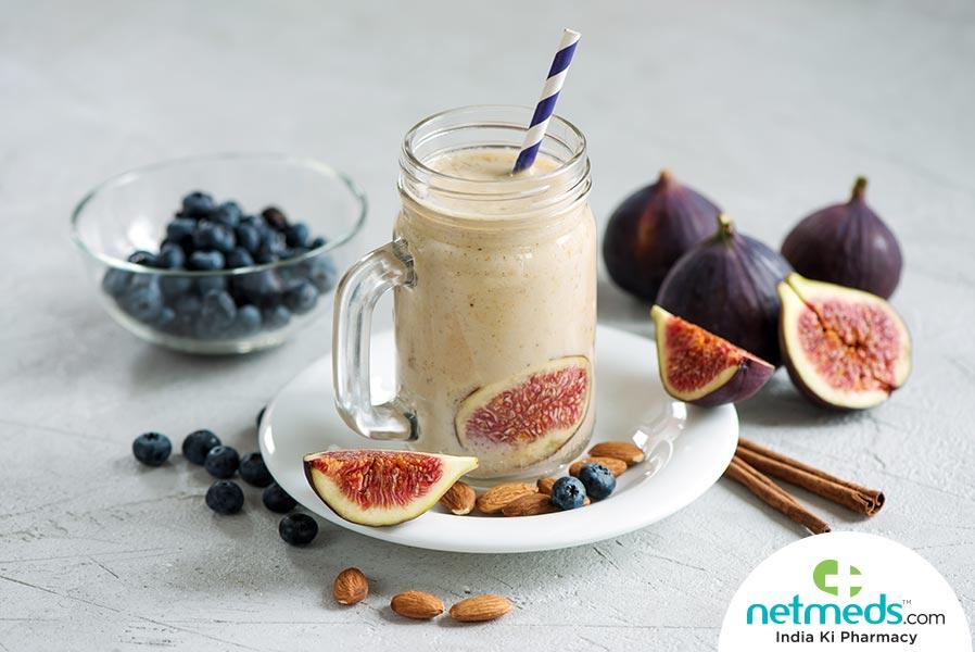 fig almond shake