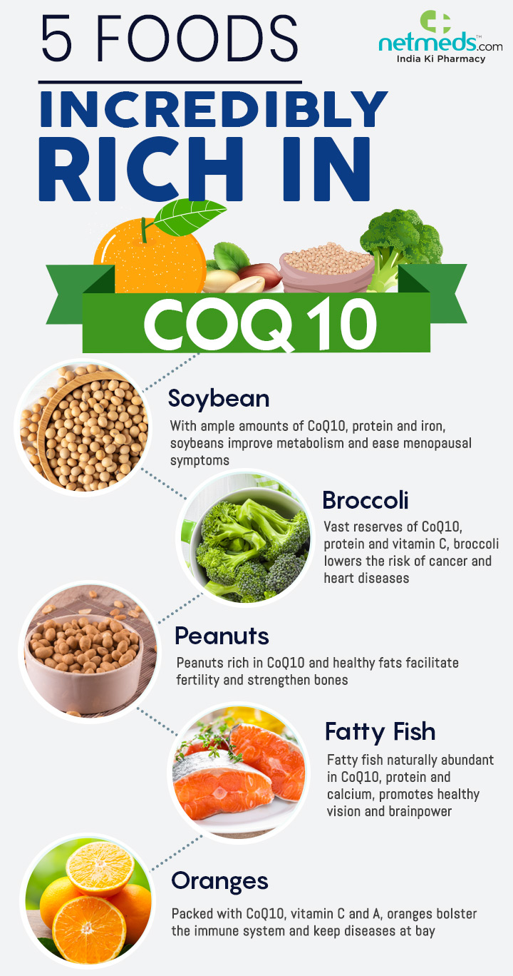 foods rich in coenzyme q10