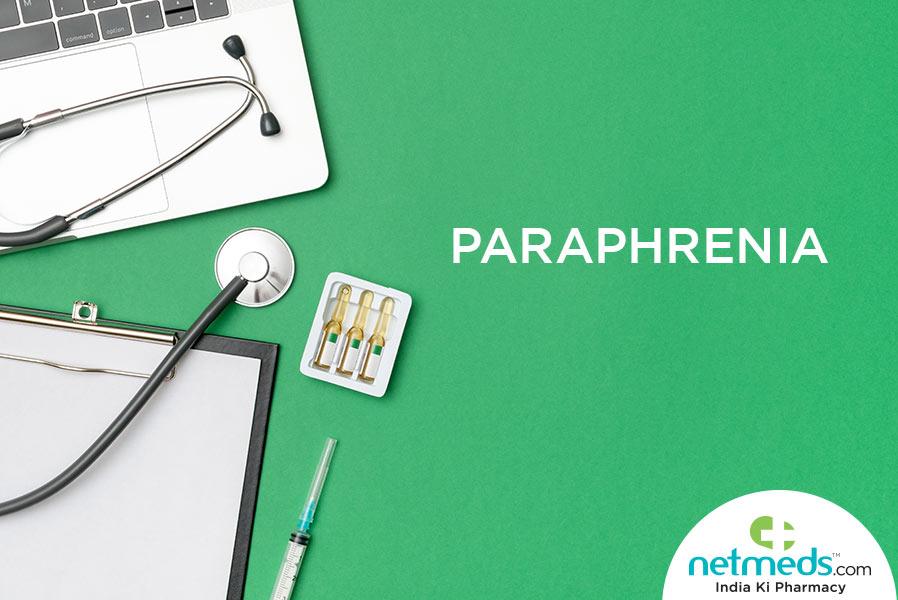 paraphrenia