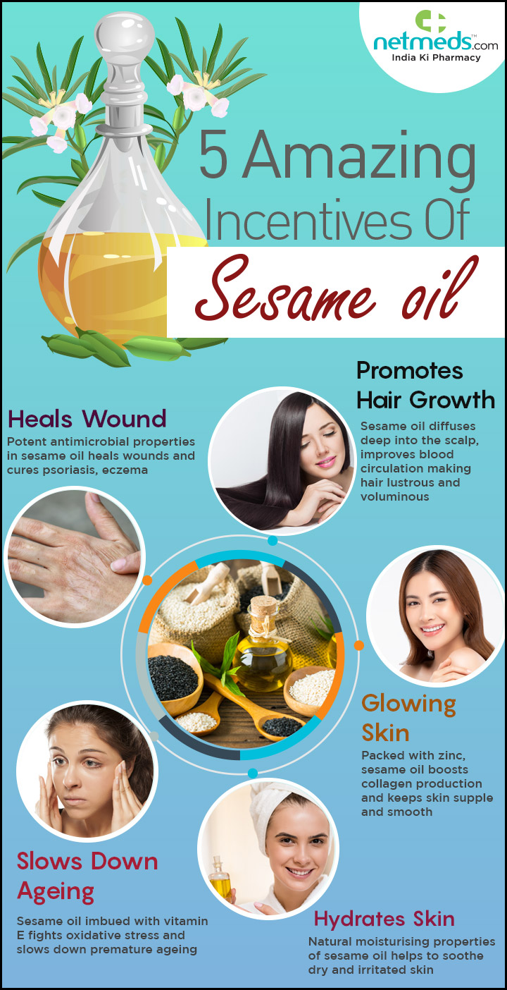5 amazing incentives of sesame oil