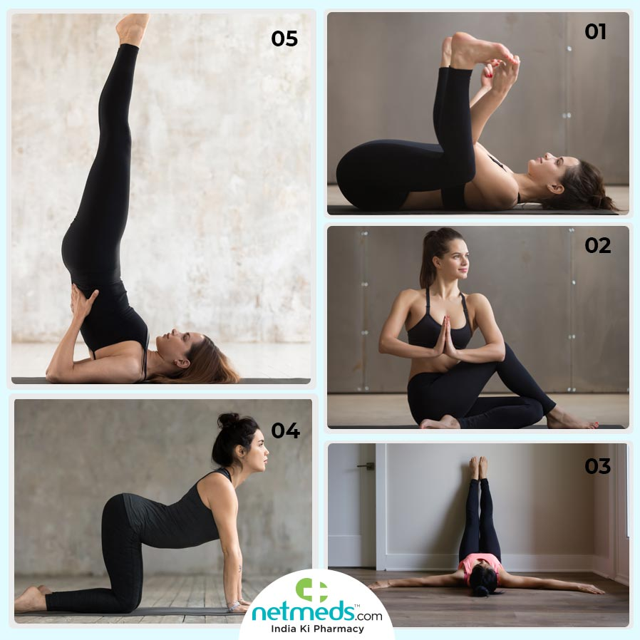 Yoga stretches to provide relief from sciatica