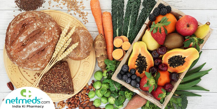 soluble and insoluble fibre rich foods