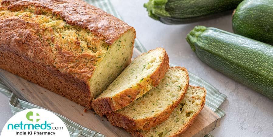 Vegan gluten-free zucchini bread
