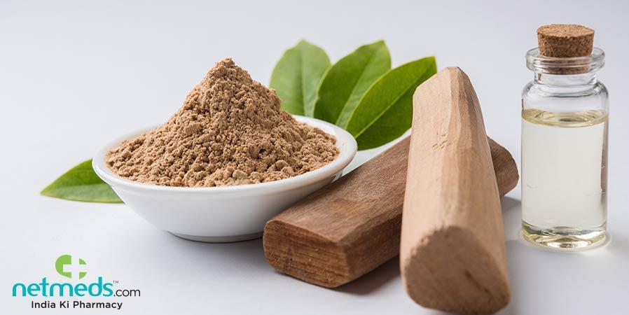 Sandalwood Powder and Oil