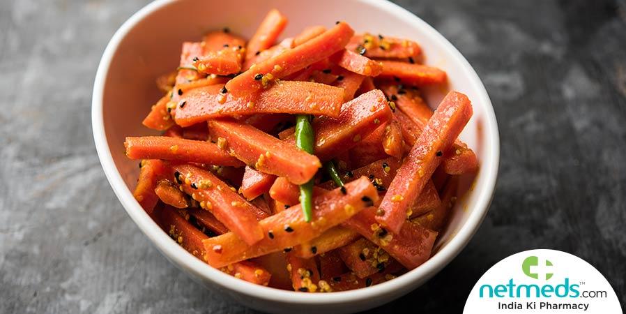 Kerala style carrot mezhukkupuratti
