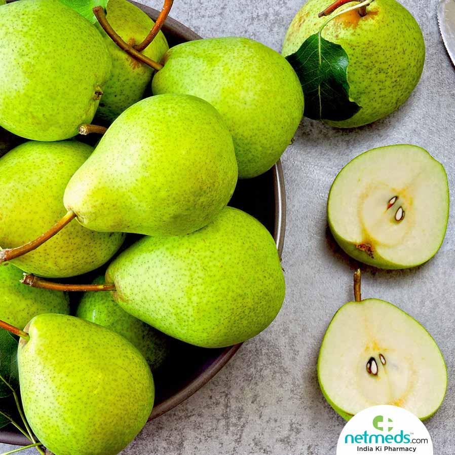 Crunchy, Juicy Pears