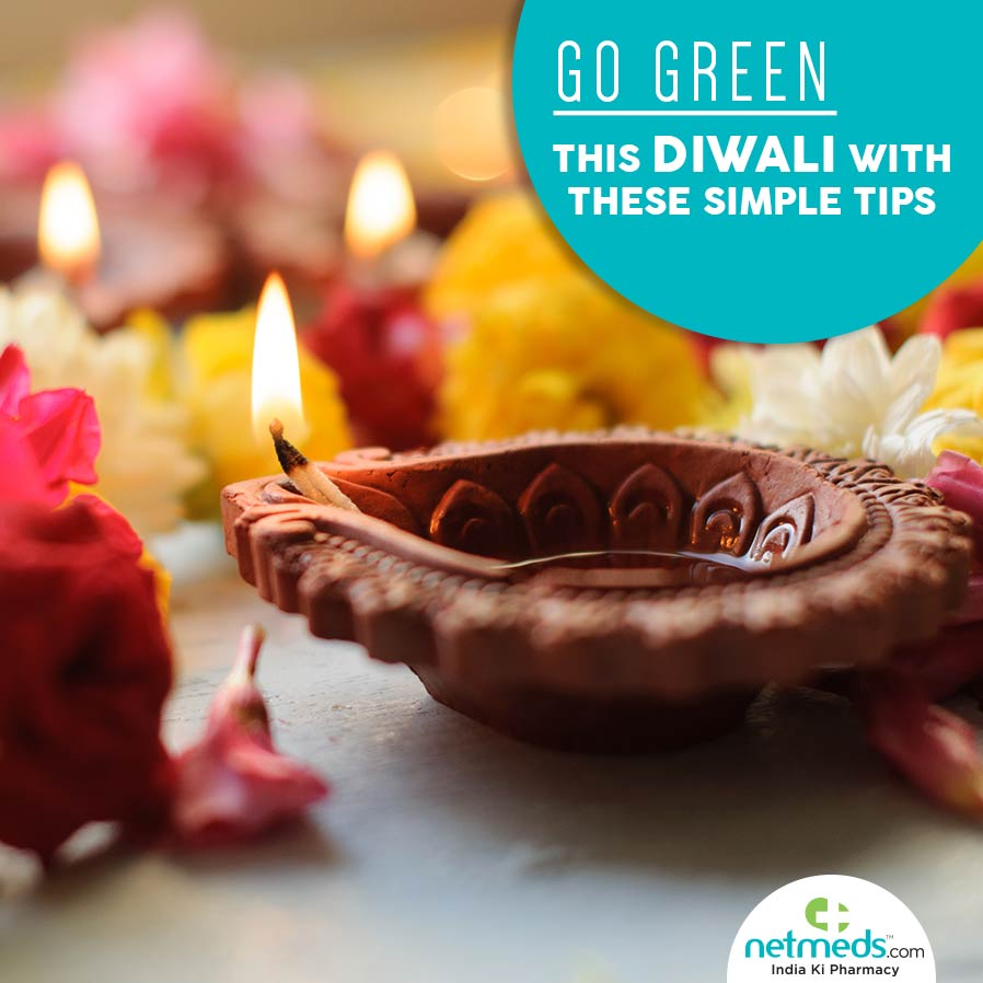 Tips to go green this Diwali