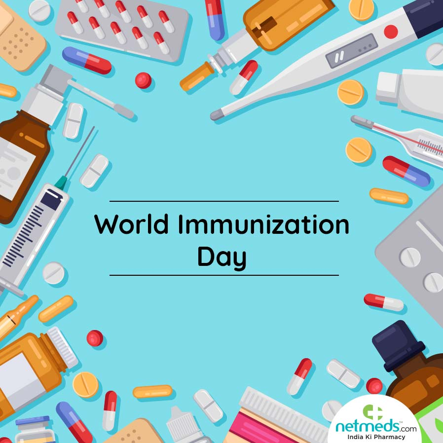 Various Vaccines World Immunization Day