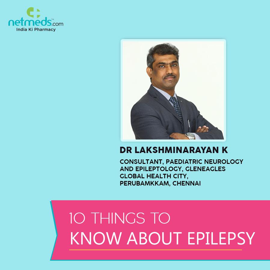 Epilepsy by Lakshminarayan K