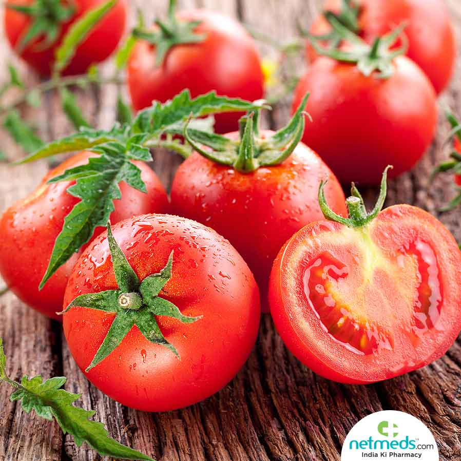 Health Benefits of Juicy, Red Tomatoes