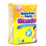 MamyPoko Pants Standard (L) 8's