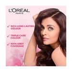 L'Oreal Paris Excellence Creme 3 Natural Darkest Brown (72 ml + 100 gm)