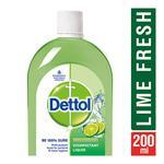 Dettol Disinfectant - Lime Fresh 200 ml