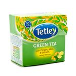 Tetley Green Tea with Ginger, Mint & Lemon Natural Flavours 10's