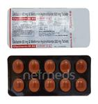 Glycinorm M 80mg Tablet 10'S