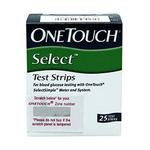 Onetouch Select Test Strip 25's
