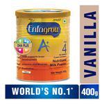 Enfagrow Nutritional Milk Powder A+ Stage 4 (2+ Years) - Vanilla Flavour 400 gm (Tin)