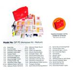 St.Johns Workplace Kit In Plastic Box (SJF P3) (Red)