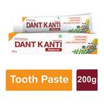 Patanjali Dant Kanti Tooth Paste - Natural 200 gm
