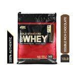 Optimum Nutrition (ON) 100% Whey Gold Standard Powder - Double Rich Chocolate 10 lb