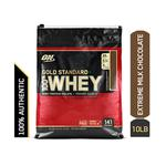 Optimum Nutrition (ON) 100% Whey Gold Standard Powder - Extreme Milk Chocolate 10 lb