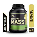Optimum Nutrition (ON) Serious Mass Powder - Banana Flavour 6 lb