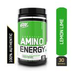 Optimum Nutrition (ON) Amino Energy Lemon Lime 30 Servings 300 gm