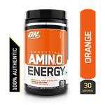 Optimum Nutrition (ON) Amino Energy Orange Cooler 30 Servings 270 gm