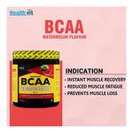 HealthVit Fitness BCAA 6000 Powder - Watermelon 200 gm