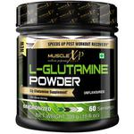 MuscleXP L-Glutamine Powder (60 Servings) - Unflavoured 300 gm